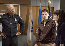 Morgan Freeman, Casey Affleck and Michelle Monaghan in Gone Baby Gone