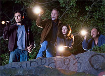 Casey Affleck, Ed Harris, Michelle Monaghan and John Ashton in Gone Baby Gone
