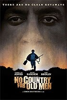 No Country for Old Men stars Josh Brolin, Tommy Lee Jones and Javier Bardem