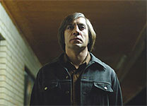 Javier Bardem in No Country for Old Men