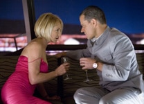 Matt Damon seduces Ellen Barkin in Ocean's Thirteen