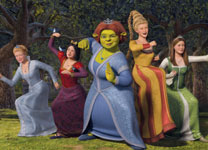 Cameron Diaz returns as Princess Fiona