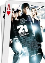 """21"" movie poster"