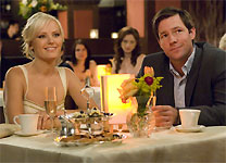 Malin Akerman and Edward Burns in 27 Dresses