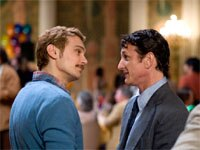 James Franco and Sean Penn in Milk