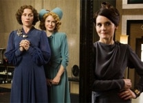 "Frances McDormand, Amy Adams and Shirley Henderson in ""Miss Pettigrew Lives for a Day"""