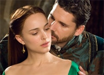 "Natalie Portman and Eric Bana in ""The Other Boleyn Girl"""