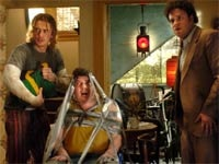 Seth Rogen, Danny  McBride and James Franco in Pineapple Express