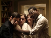 Mather Zickel, Anne Hathaway, Rosemarie DeWitt and Tunde Adebimpe in Rachel Getting Married