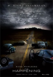 The Happening movie poster