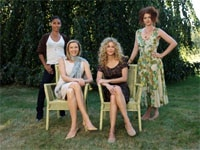 Jada Pinkett Smith, Annette Bening, Meg Ryan and Debra Messing in The Women