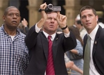 "Forest Whitaker, Dennis Quaid and Matthew Fox in ""Vantage Point"""