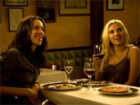 Rebecca Hall and Scarlett Johansson in Vicky Cristina Barcelona