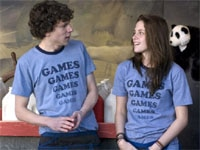 Kristen Stewart and Jesse Eisenberg in Adventureland