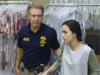 Harrison Ford and Alice Braga in Crossing Over