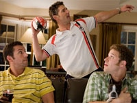Adam Sandler, Eric Bana and Seth Rogen in Funny People