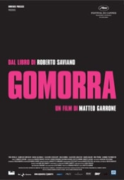 The Italian movie poster for Gomorrah