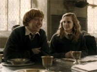 Emma Watson and Rupert Grint in Harry Potter and the Half-Blood Prince