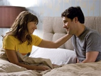Rashida Jones and Paul Rudd in I Love You, Man