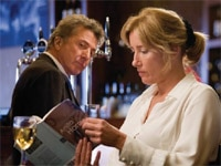Dustin Hoffman and Emma Thompson in Last Chance Harvey