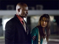Djimon Hounsou and Camilla Belle in Push
