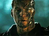 Sam Worthington in Terminator: Salvation