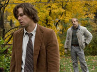 Mark Wahlberg and Stanley Tucci in The Lovely Bones