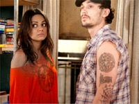 Mila Kunis and James Franco in Date Night