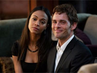 Zoe Saldana and James Marsden in Death at a Funeral