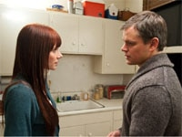 Bryce Dallas Howard and Matt Damon in Hereafter