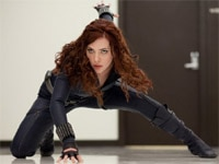 Scarlett Johannson in Iron Man 2