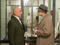 Ben Kingsley and Leonardo DiCaprio in Shutter Island