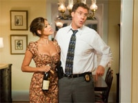 Eva Mendes and Will Ferrell in The Other Guys