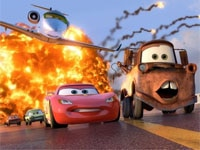 A still from Cars 2