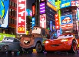 A still from Cars 2, in theaters June 24