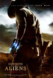 Cowboys & Aliens movie poster