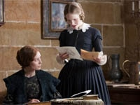 Mia Wasikowska and Tamzin Merchant in Jane Eyre