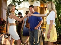 Jennifer Aniston, Adam Sandler and Brooklyn Decker in Just Go With It