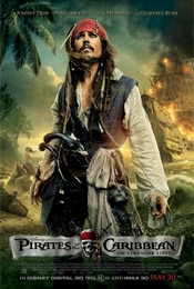 Pirates of the Caribbean: On Stranger Tides movie poster