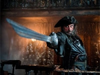 Ian McShane in Pirates of the Caribbean: On Stranger Tides