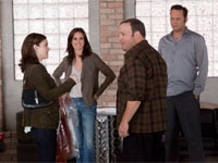 Winona Ryder, Jennifer Connelly, Kevin James and Vince Vaughn in The Dilemma