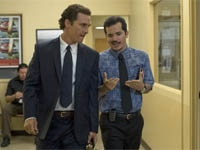 Matthew McConaughey and John Leguizamo in The Lincoln Lawyer