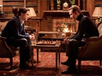 James McAvoy and Michael Fassbender in X-Men: First Class