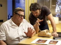 John Goodman and Ben Affleck in Argo