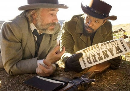 Read our review of Django Unchained, starring Christoph Waltz and Jamie Foxx