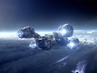 "The ""Prometheus"" ship that is the film's namesake"