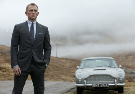 Daniel Craig in Skyfall, one of GAYOT's featured action movies