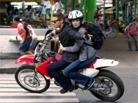 Jeremy Renner and Rachel Weisz in The Bourne Legacy