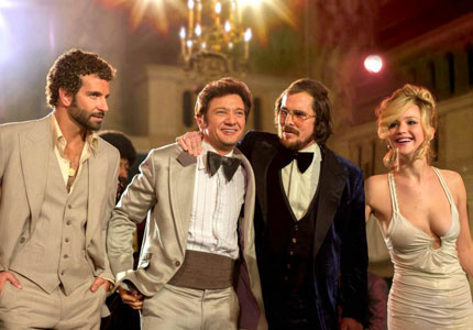 One of GAYOT's Top 10 Films of 2013, American Hustle is a glamorous 1970s crime romp full of mobsters, shysters and corrupt politicians