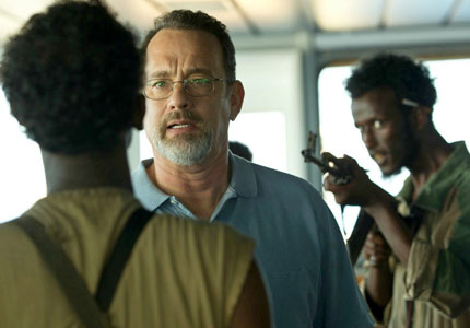 Tom Hanks in Captain Phillips, one of GAYOT's Top 10 Films of 2013